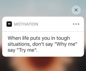 motivation and try me image