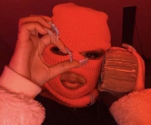 money, gang, and pink image