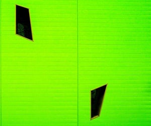 facade, minimalism, and green image