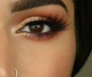 make-up, makeup, and matte image