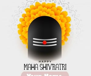 rite name on pic, create your name pics, and happy shivratri wishes image