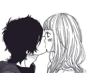 anime, I Love You, and anime couple image