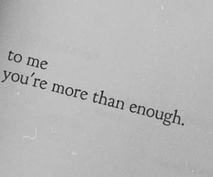 enough, poems, and quote image