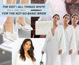 bridal, bridal fashion, and Collage image