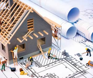 building construction, construction company, and construction contractors image