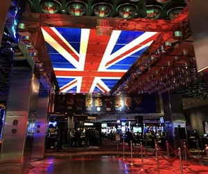 discover, uk flag, and Las Vegas image