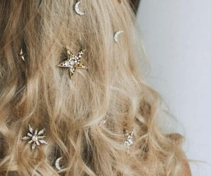 aesthetic, hairstyle, and ornament image