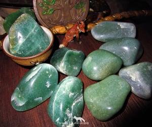crystal, reynardine, and green aventurine image