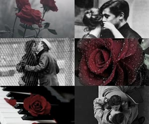 lovers, love aesthetic, and melancholy image
