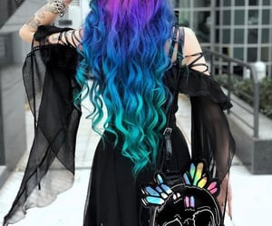 color, colored hair, and creative image