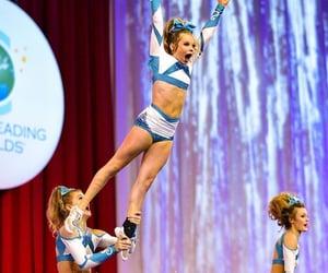 cheer, cheerleader, and cheerleading image