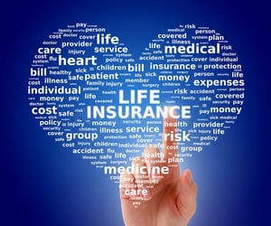 business, life insurance, and technology image