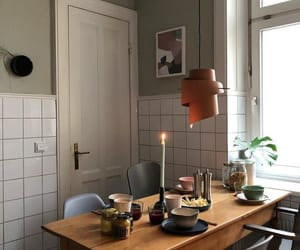 breakfast, candle, and interior image