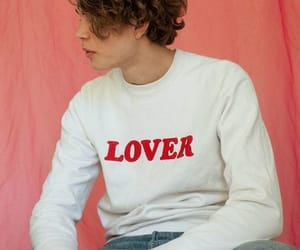 boy, curls, and lover image