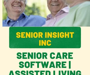 senior, senior care, and assisted living image