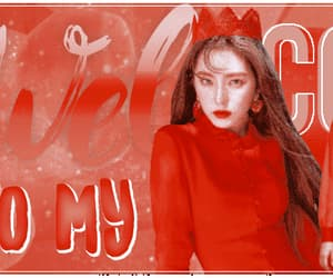 gif, red velvet edit, and blog header image