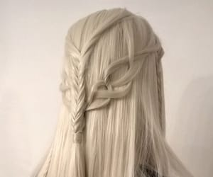 beauty, elven, and braids image