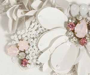 beads, fashion, and flower image