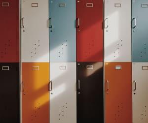locker, theme, and aesthetic image