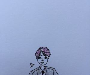 draw, kpop, and korean image