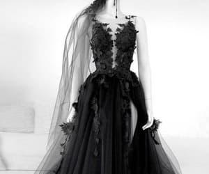 dresses, evening dress, and long prom dress image