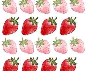 illust and strawberry image