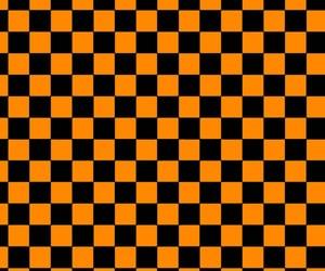aesthetic, black, and orange image