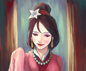 beautiful, mulan, and disney image