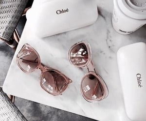 fashion, sunglasses, and chloe image