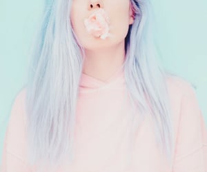 beautiful, cotton candy, and girl image