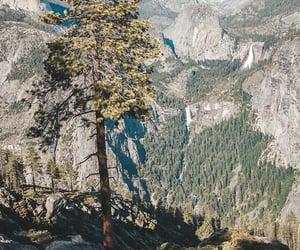 nature, yosemite park, and glacier point image