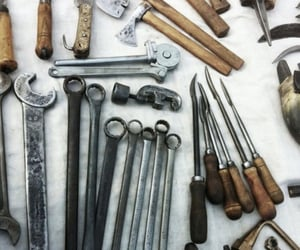 tools and a study image