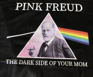 the dark side and pink freud image