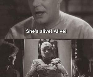 vintage and Bride of Frankenstein image