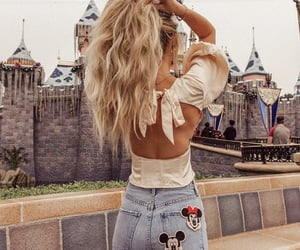 clothes, disneyland, and fashion image