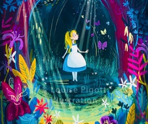 alice, drawing, and princess image