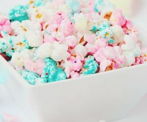 popcorn, food, and sweet image