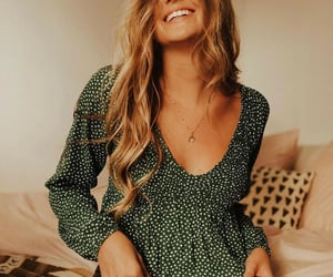 blouse, fashion, and happy image