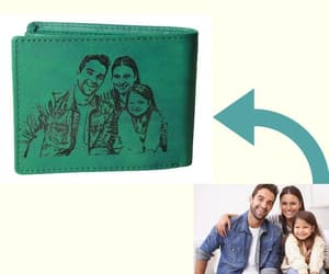 coin, trifold, and men gift image