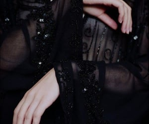 fashion, black, and dark image
