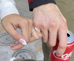 couple, romance, and french tip image