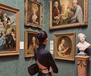 art, girl, and london image