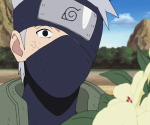 anime, naruto, and kakashi hatake image