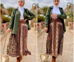 printed skirt image