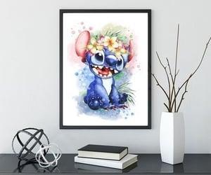 blue, lilo & stitch, and decor image