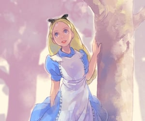 alice, beauty, and blonde image