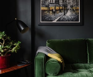 apartment, decor, and eclectic image