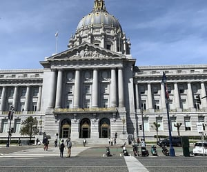 architecture, san francisco, and city hall image