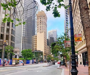 city, san francisco, and discover image