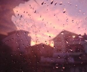 pink, sky, and sun image